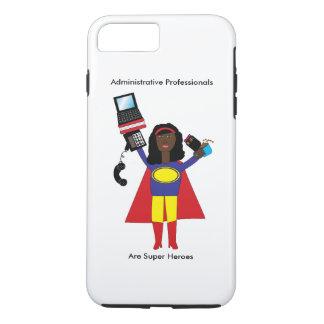管理上の専門のスーパーヒーローのアフリカ人アメル iPhone 8 PLUS/7 PLUSケース