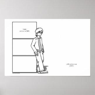 箱および限界 ポスター