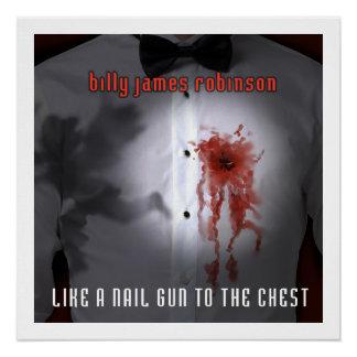 箱のアルバムカバーポスターへのネイル銃のように ポスター