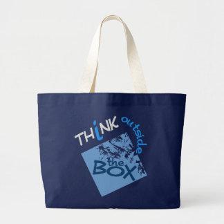 箱のバッグの外で-スタイル及び色を選んで下さい ラージトートバッグ