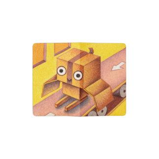 箱のフクロウ ポケットMoleskineノートブック