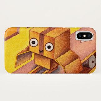 箱のフクロウ iPhone X ケース