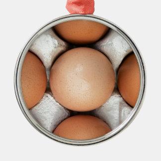 箱の卵 メタルオーナメント