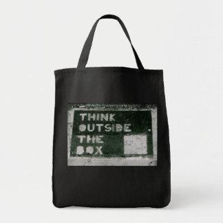 箱の外で考えて下さい トートバッグ
