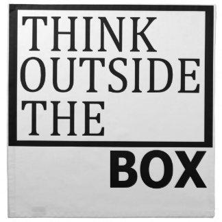 箱の外で考えて下さい ナプキンクロス