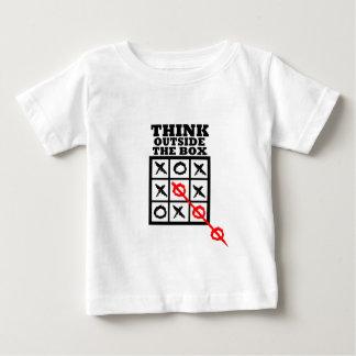 箱の外で考えて下さい ベビーTシャツ