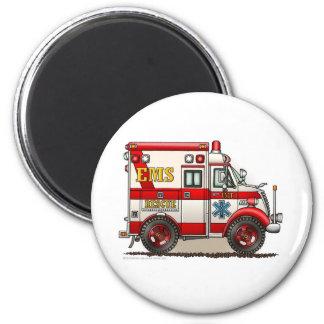 箱の救急車EMS EMTの緊急事態 マグネット