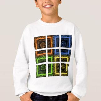 箱の正方形 スウェットシャツ