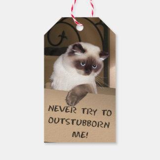 箱の猫 ギフトタグ