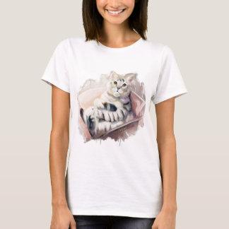 箱の猫 Tシャツ