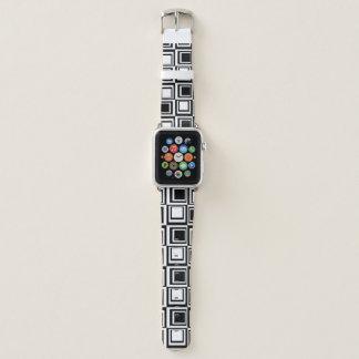 箱の白黒のAppleの時計バンド Apple Watchバンド