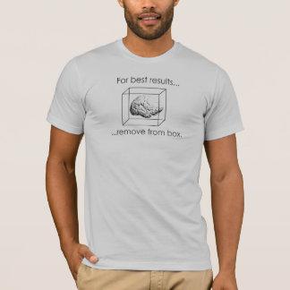 箱-人のTから取除いて下さい Tシャツ