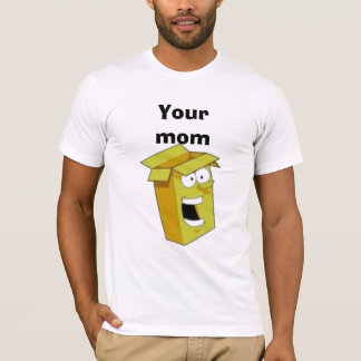 箱、Yourmom Tシャツ