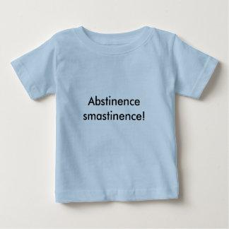 節制のsmastinence! ベビーTシャツ