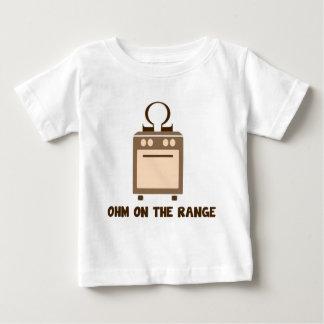 範囲のオーム ベビーTシャツ