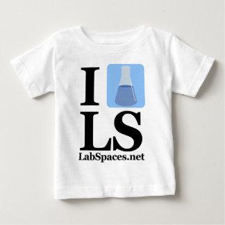 範囲のIビーカーLS ベビーTシャツ