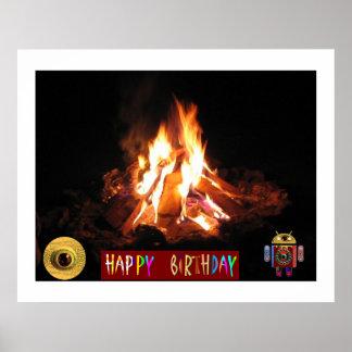 篝火の糖菓の火LightShow: 共有の喜びを楽しんで下さい ポスター