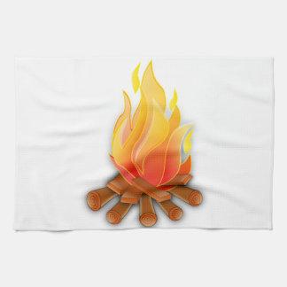 篝火 キッチンタオル