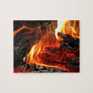 篝火 ジグソーパズル