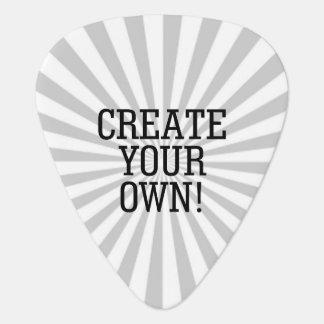 簡単は1つのステップであなた専有物を過します楽しい時を作成します! ギターピック