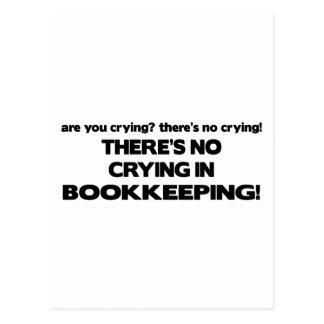 簿記の泣き叫び無し ポストカード