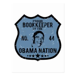 簿記係のオバマの国家 ポストカード