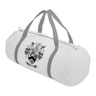 米の家紋の紋章付き外衣 ジムバッグ