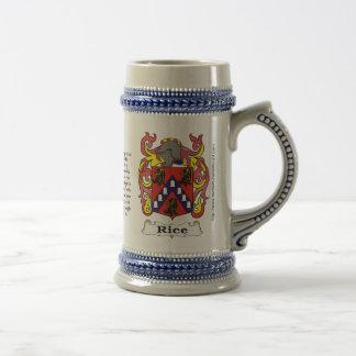 米の家紋ステイン ビールジョッキ