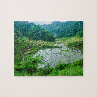 米台地の景色、フィリピン ジグソーパズル