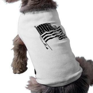 米国からの愛国者のため: 米国旗 ペット服