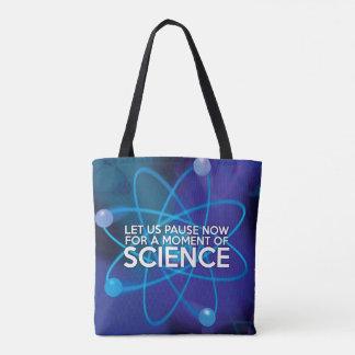 米国が科学のちょっとの間今休止するようにして下さい トートバッグ