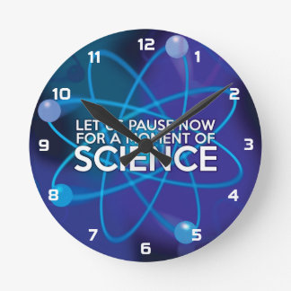 米国が科学のちょっとの間今休止するようにして下さい ラウンド壁時計