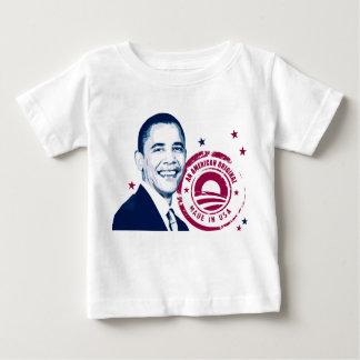 米国でなされるオバマ- ベビーTシャツ