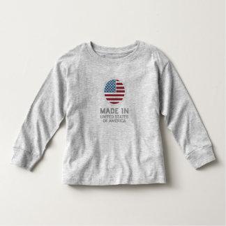 米国で作られる トドラーTシャツ