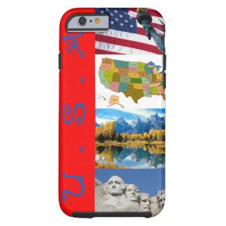 米国のりんごのiPhone6ケースのアメリカのデザインのsmartphone ケース