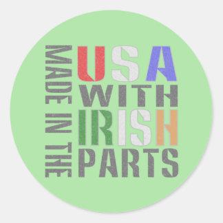 米国のアイルランド人の一部には作られる ラウンドシール