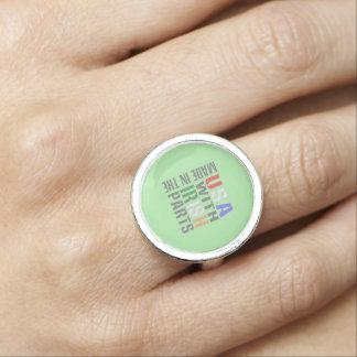 米国のアイルランド人の一部には作られる 指輪