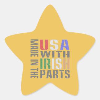 米国のアイルランド人の一部には作られる 星シール