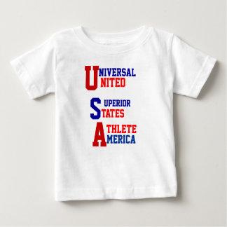 米国のオリンピックのTシャツ ベビーTシャツ