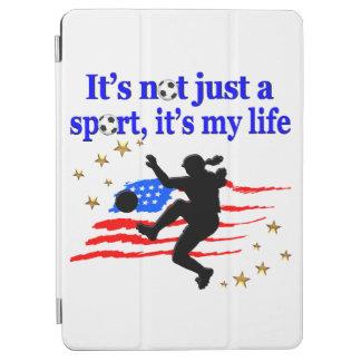 米国のサッカーの選手のデザインの生命 iPad AIR カバー