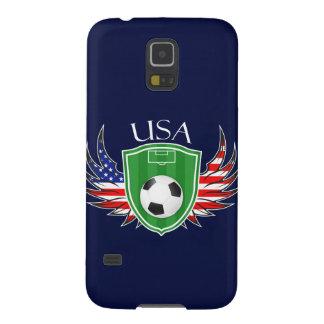 米国のサッカーのSamsungの銀河系S5の箱 Galaxy S5 ケース