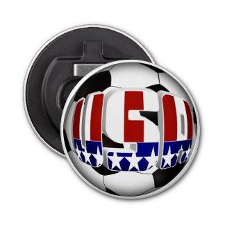 米国のサッカーボール 栓抜き