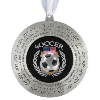 米国のサッカー2016ファンのギア オーナメント