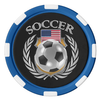 米国のサッカー2016ファンのギア カジノチップ