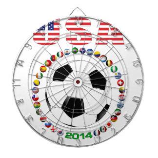 米国のサッカー4017 ダーツボード