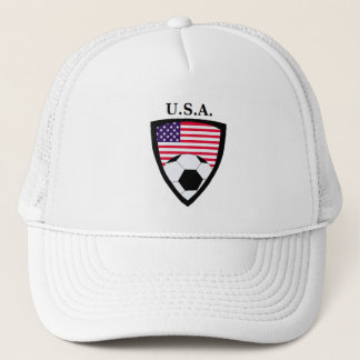 米国のサッカー キャップ