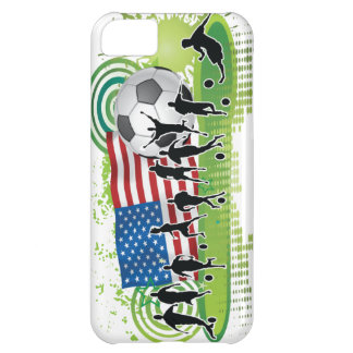 米国のサッカー iPhone5Cケース