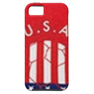 米国のサッカー iPhone SE/5/5s ケース
