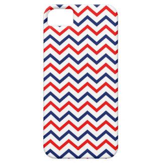 米国のシェブロン赤く白くおよび青のIphoneの箱 iPhone SE/5/5s ケース