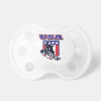 米国のスノーボード おしゃぶり